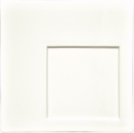 Тарелка квадратная «Гурме» Kunst Werk 24/13см