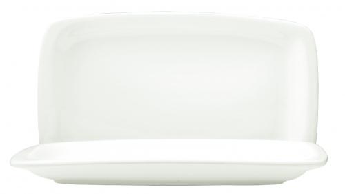 Блюдо прямоугольное с закругленными бортами Kunst Werk L=24,5/14,5 см