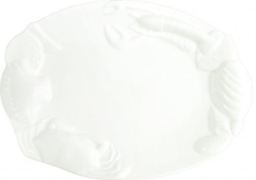 Блюдо для подачи рыбных блюд «Рак» Kunst Werk L=36cм