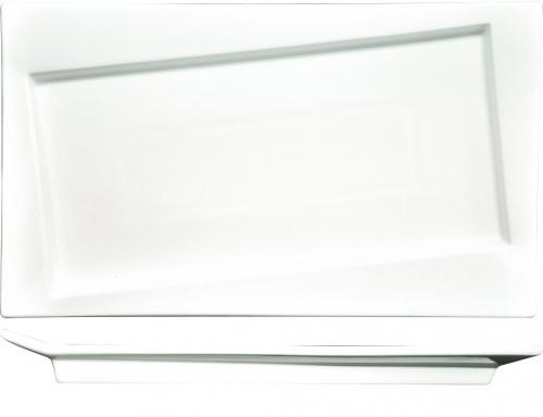 Блюдо прямоугольное со смещенным дном 30,5*18 см, P.L. Proff Cuisine