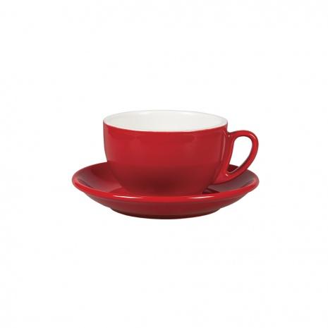 "Чайная пара ""Бариста"", 300 мл, красный цвет"