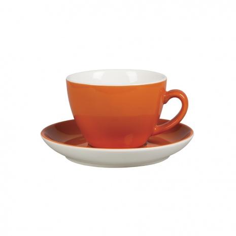 """Чайная пара """"Barista"""", 300 мл, оранжевый цвет"""