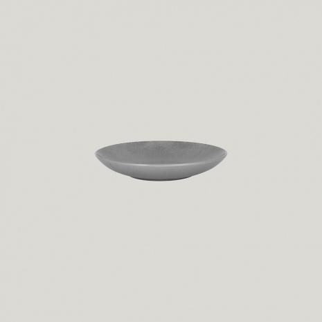 Тарелка-салатник глубокая круглая 23 см, высота 4 см, серия SHALE